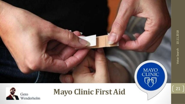 10.11.2018 21 VoiceSearch MayoClinic First Aid