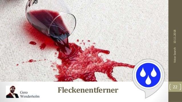 10.11.2018 22 VoiceSearch Fleckenentferner