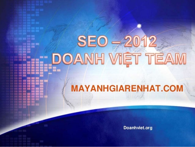 MAYANHGIARENHAT.COM        Doanhviet.org