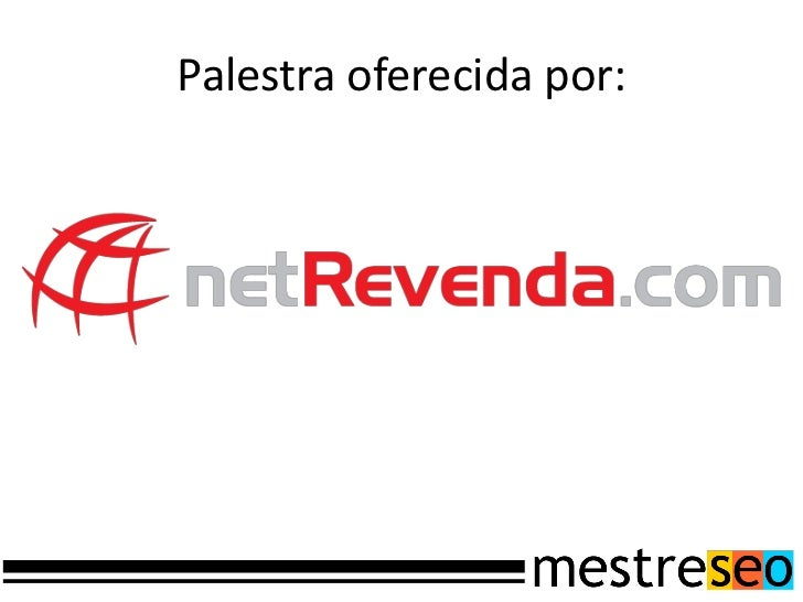 Palestra oferecida por: