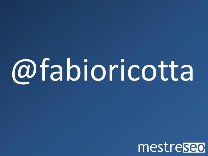facebook.com/fabioricotta                   ...