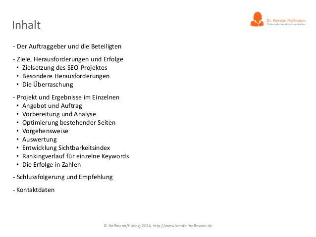 Praxisstudie: SEO-Erfolg ohne Linkbuilding! Slide 3