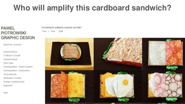 Who will amplify this cardboard sandwich?