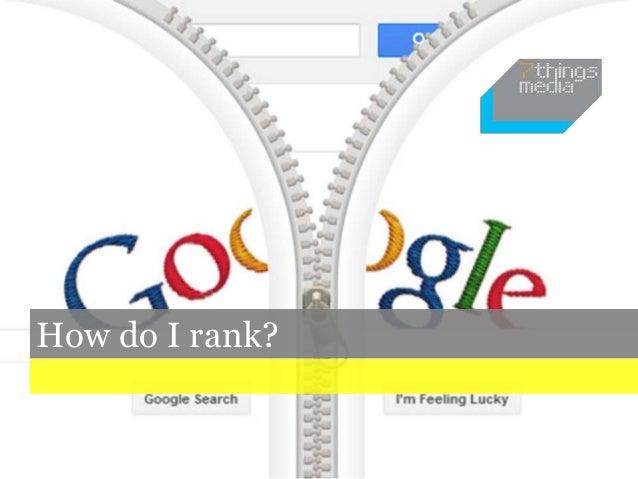 How do I rank?