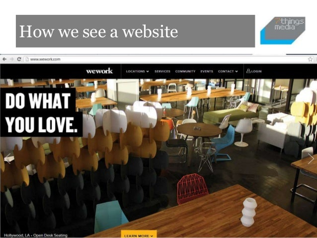 How we see a website