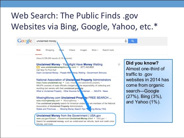 search engine optimization for government websites pagano