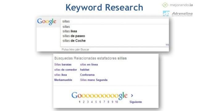 • Genera análisis de tu dominio y también de tus competidores • Por Keywords (donde aparece, donde no aparece, donde gana ...