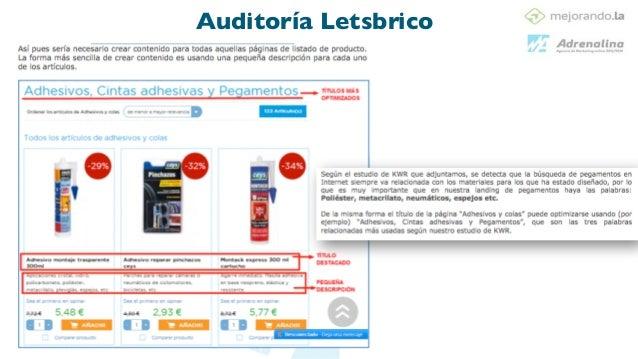 4 acciones! Análisis On Page ! ! •Accesibilidad ! •Análisis del fichero Robots.txt •Análisis de la Meta-Robots •Análisis d...
