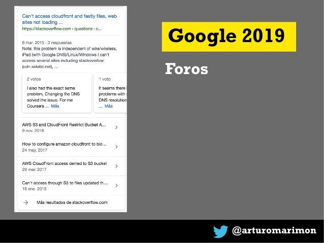 @arturomarimon Google 2019 Foros
