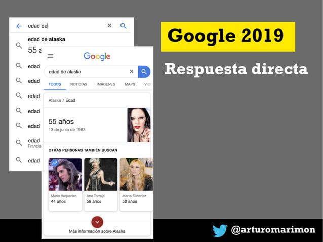 @arturomarimon Google 2019 Respuesta directa