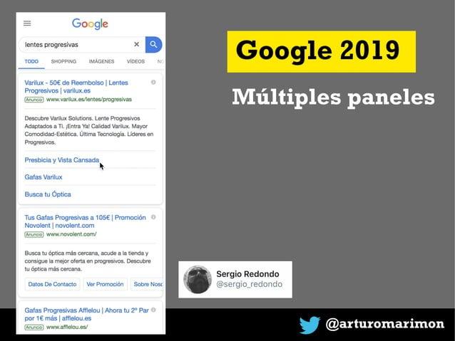@arturomarimon Google 2019 Múltiples paneles