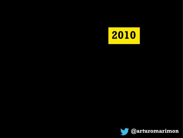 @arturomarimon 2010 Volvamos a