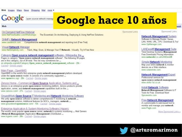 @arturomarimon Google hace 10 años