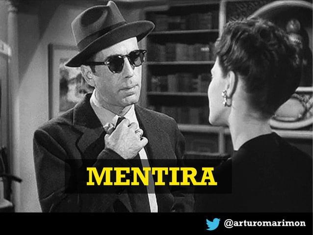 MENTIRA @arturomarimon