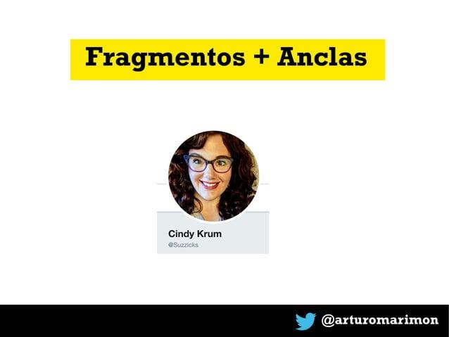 @arturomarimon Fragmentos + Anclas