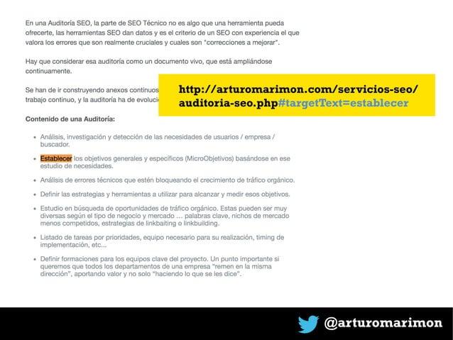 @arturomarimon http://arturomarimon.com/servicios-seo/ auditoria-seo.php#targetText=establecer