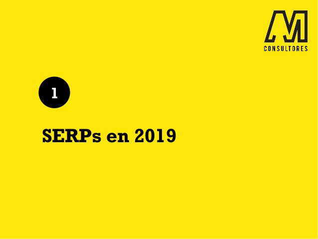 SERPs en 2019 1