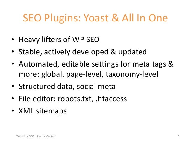 technical seo for wordpress developers designers and webmasters