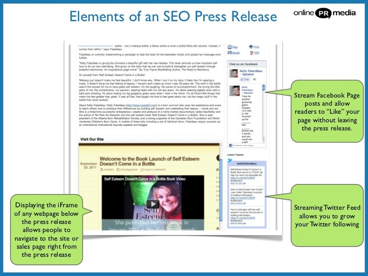 how to do press release in seo