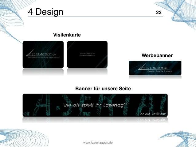 22!4 Design! Visitenkarte! Werbebanner! Banner für unsere Seite! www.lasertaggen.de!