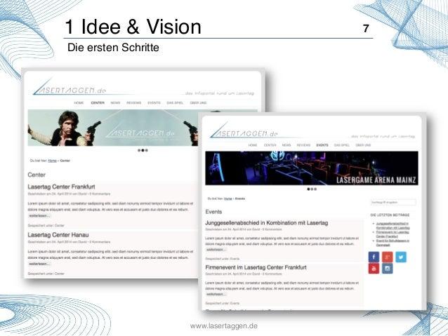 1 Idee & Vision! 7! Die ersten Schritte! ! www.lasertaggen.de!