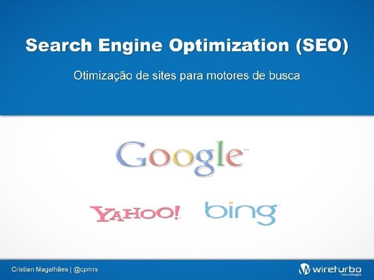 Search Engine Optimization para Iniciantes - Cristian Magalhães
