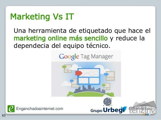 Enganchadoainternet.com @SemBilbao 63 Una herramienta de etiquetado que hace el marketing online más sencillo y reduce la ...