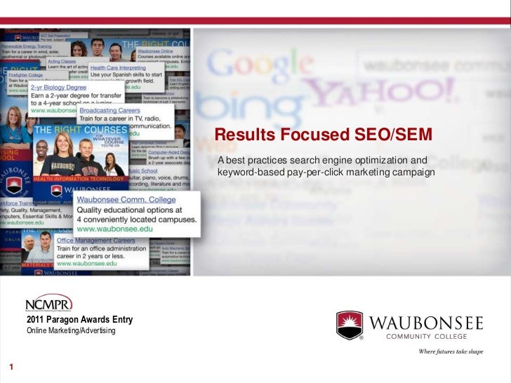 Results Focused SEO/SEM                                   A best practices search engine optimization and                 ...