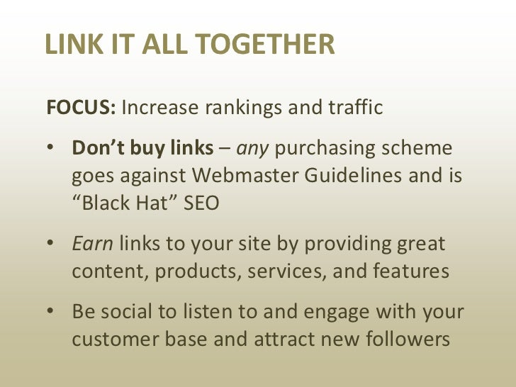 Don't let this happen to you.                                    Do not buy links. Ever.Source: Paid Links (via Google Web...
