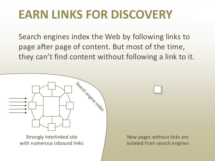 EARN LINKS FOR TRUSTFor a search engine, links from one site toanother are like a vote of confidence and trust,similar to ...