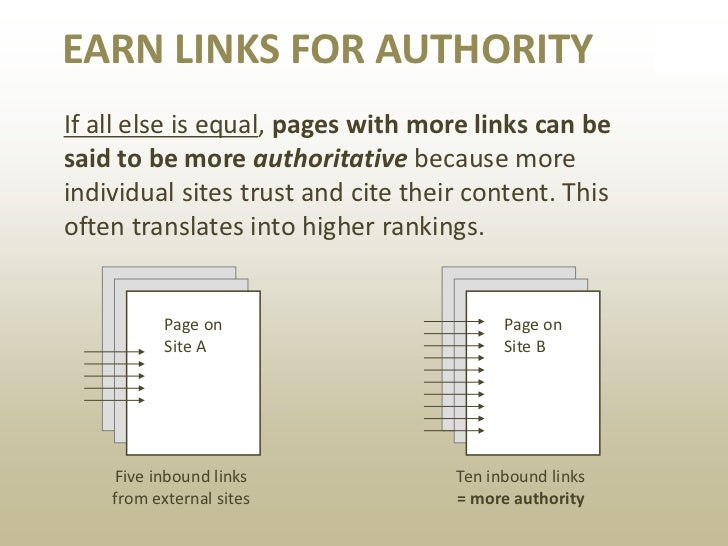 HOW CAN YOU EARN LINKS?• Create useful content that fulfills a  customer need – especially tacit needs• Be original, funny...
