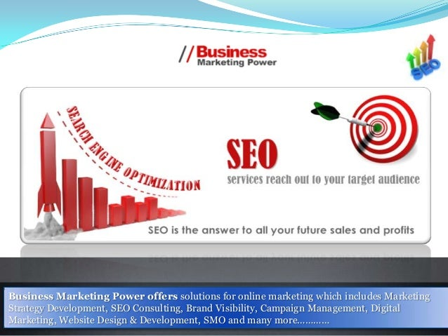 Business Marketing Power offers solutions for online marketing which includes Marketing Strategy Development, SEO Consulti...