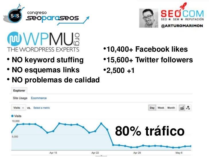 •10,400+ Facebook likes• NO keyword stuffing       •15,600+ Twitter followers• NO esquemas links         •2,500 +1• NO pro...