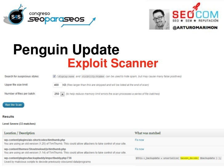 Penguin Update       Exploit Scanner