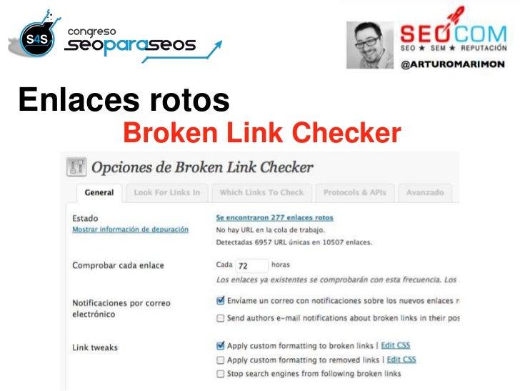 Enlaces rotosEnlaces rotosLink Checker      Broken