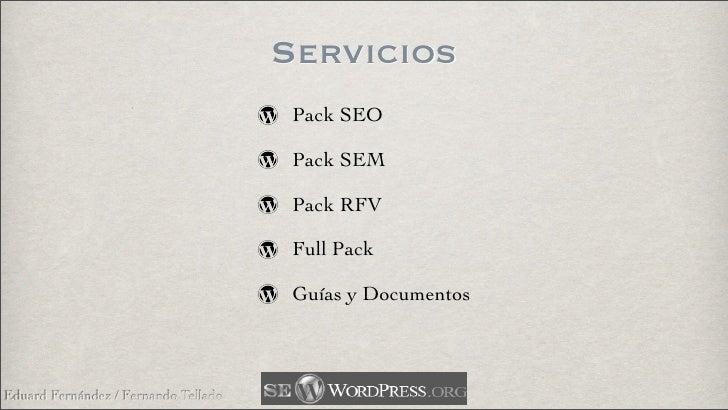 Servicios                                        Pack SEO                                         Pack SEM                ...