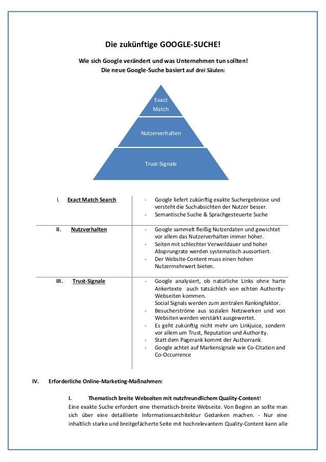 SEO & Texter - Mag. Wolfgang Jagsch Bakk. BEd.  Die zukünftige GOOGLE-SUCHE!  Wie sich Google verändert und was Unternehme...