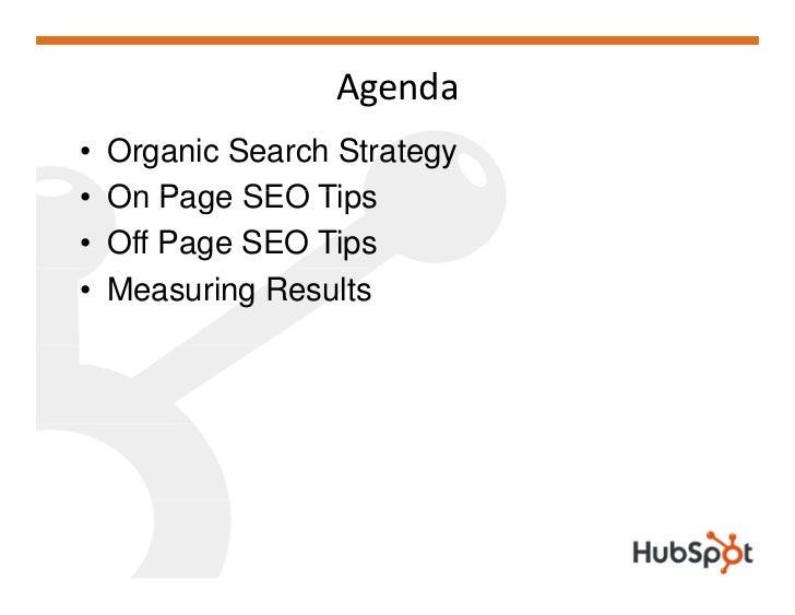 SEO101 Brian Halligan HubSpot Presentation for New Marketing Summit NMS08 Slide 2