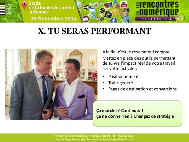 Rencontres du numérique #2 en Haute Bretagne - 25 Novembre 2014 Comité Départemental du Tourisme Haute Bretagne Ille-et-Vi...