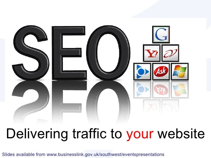 Delivering traffic to  your  website