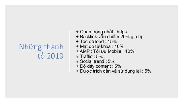 Tài liệu SEO mới nhất 2019-2020 Slide 3