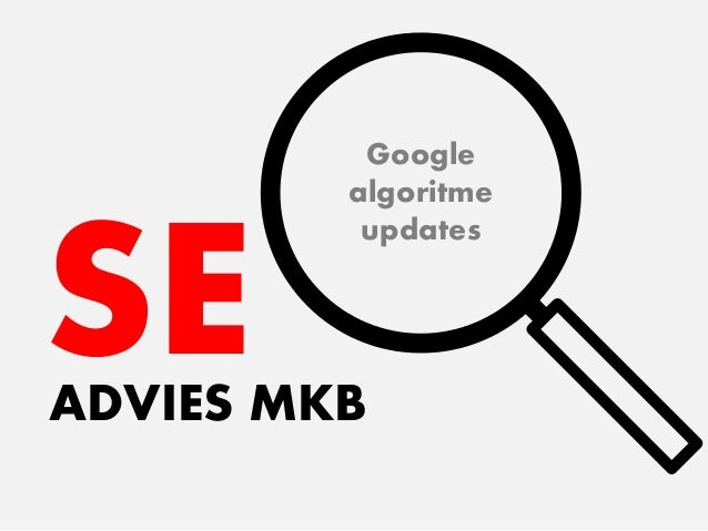 SEADVIES MKB Google algoritme updates