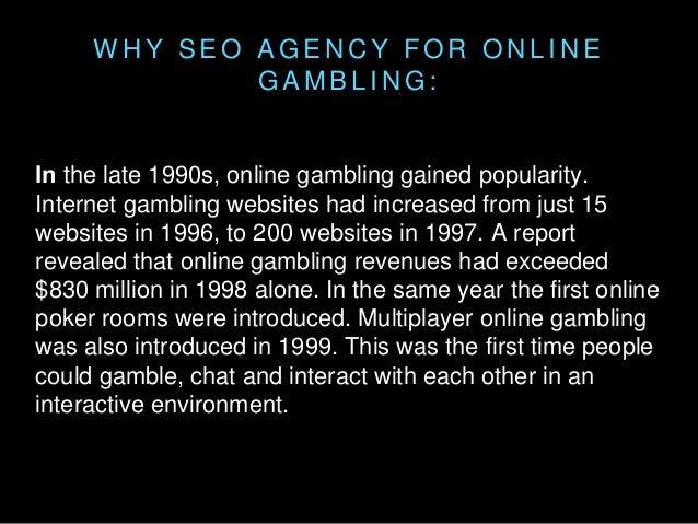 Seo agency gambling casino royale 2007 hollywood movie in hindi watch online