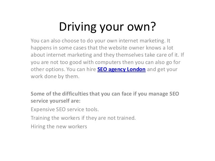 Why Hire SEO Agency London