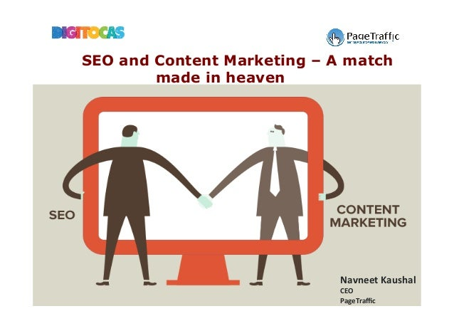 Navneet	Kaushal	 CEO	 PageTraffic	 SEO and Content Marketing – A match made in heaven
