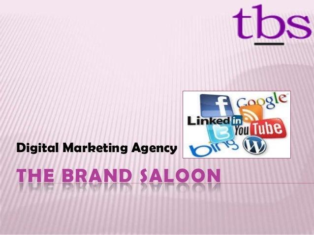 THE BRAND SALOON Digital Marketing Agency