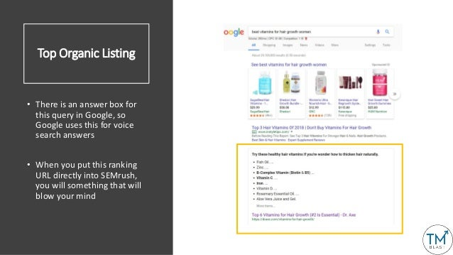 Top Ranking Page Drives 27k Organic Visits Monthly