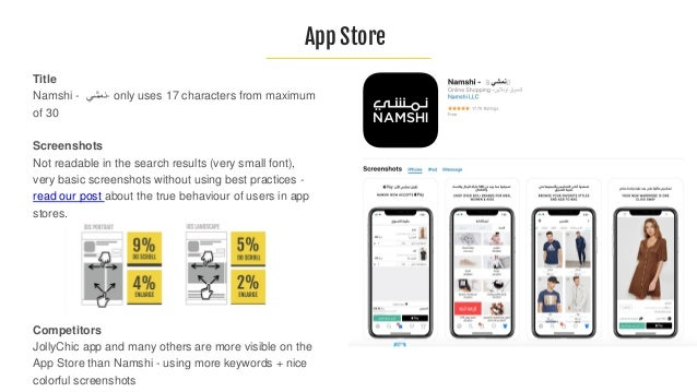 Title: Namshi - not used for keywords Short description Enjoy effortless shopping and much more with the Namshi app. - not...