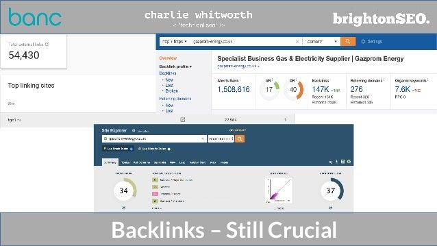 Backlinks – Still Crucial