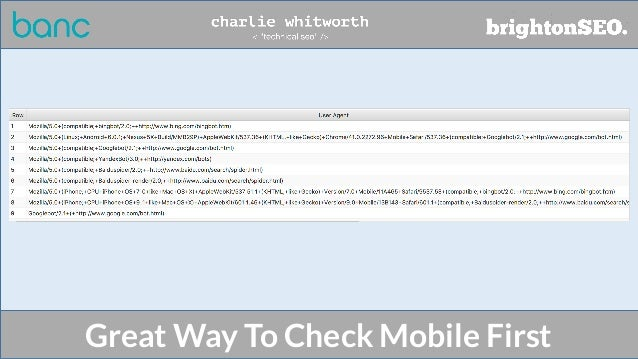 Great Way To Check Mobile First